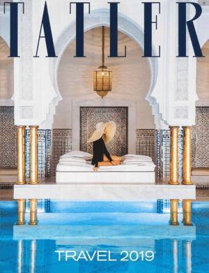 Tatler Travel 2019 cover
