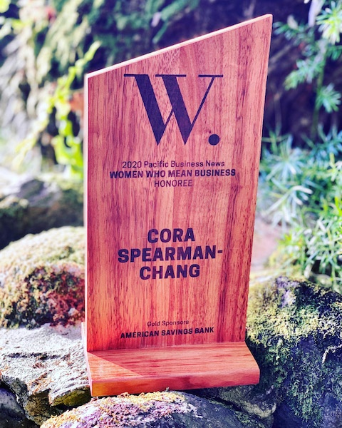 Cora Spearman-Chang 2020 Pacific Business News Women Who Mean Business Honoree