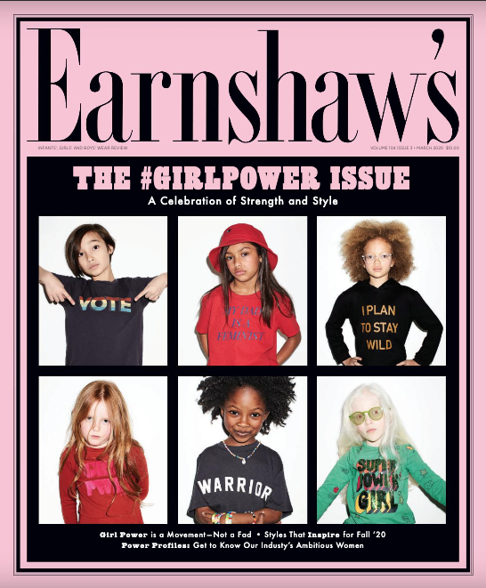 Earnshaw's March 2020: The Girl Power Issue
